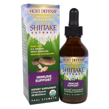 Fungi Perfecti Host Defense® Organic Mushroom™ Shiitake Extract Immune Support