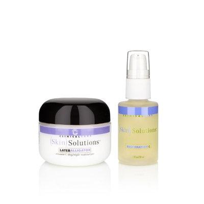 Clinical Care Skin Solutions LaterAlligator Vitamin C Moisturizer & Vitamin C Serum