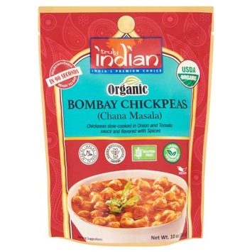 Zbi Inc. Truly Indian, Entree Chickpeas Bombay, 10 Oz (Pack Of 6)
