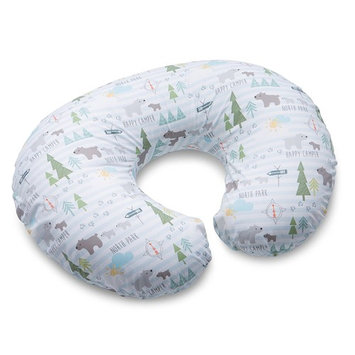 Boppy Nursing Pillow and Positioner, North Park, Blue