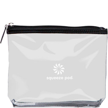 Squeeze Pod Clear Travel Toiletry Bag - TSA Approved