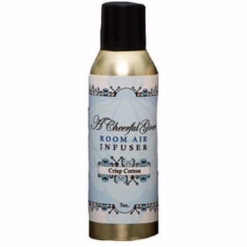 Cheerful Candle 186504 7 oz Room Air Infuser Spray - Crisp Cotton