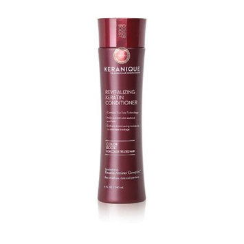 Keranique Color Boost Conditioner for Color Treated Hair - Keratin Amino Complex, Sulfate Free, Paraben Free, Dye Free, 8 fl oz.