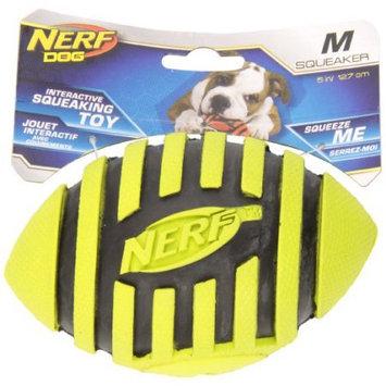 NERF Dog Nerf Spiral Squeaker Football Dog Toy: 5