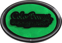 Clearsnap ColorBox Black Light Neon Oval Ink Pad-Spring