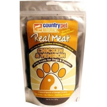 Country Pet Naturals CountryPet Naturals Chicken & Venison Jerky Strips, 8 oz.