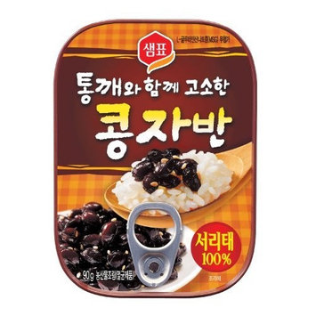 Sempio Black Beans cooked in Soy Sauce, 90-Grams (Pack of 6)