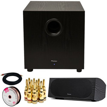 Pioneer SW-10 400W Powered Subwoofer w/ 4