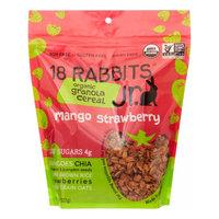18 Rabbits Mango Strawberry Jr. Organic Granola Cereal, 8 Oz