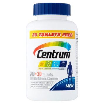 Centrum Adult Men Multivitamin Tablets, 220 Ct BONUS