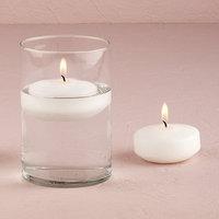 Weddingstar 4021-08 Regular Size Round Candles- White