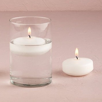 Weddingstar 4021-08 Regular Size Round Candles- White