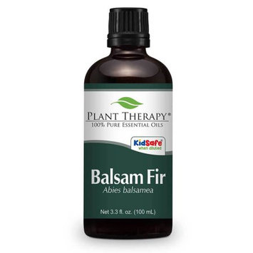 Plant Therapy Balsam Fir Essential Oil 100 mL (3.3 fl. oz.) 100% Pure, Undiluted, Therapeutic Grade