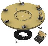 DIAMABRUSH 931491212 Abrasive Disc, Tan,3 in. dia,14 in. W