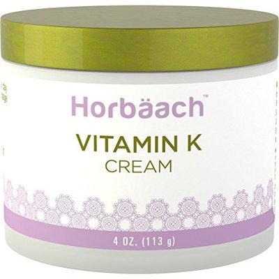 Horbaach Vitamin K Cream 4oz for Face & Under Eyes