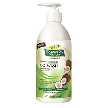 Palmer's Coconut Formula Co-Wash Cleansing Conditioner, Shampoo Alternative 473ml (PACK OF 4)