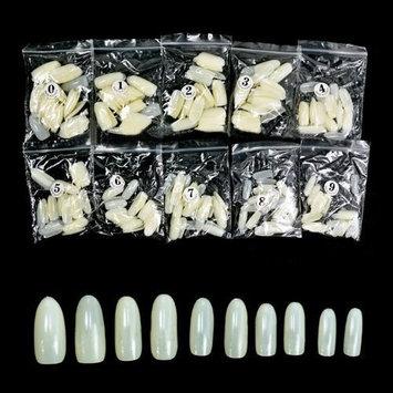 500pcs Round Nails (Full Nails) - Natural CODE: #590N