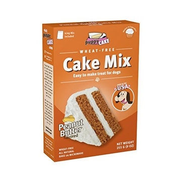 Uncle Jimmy's Brand Products Puppy Cake Wheat-free Peanut Butter Cake Mix and Frosting