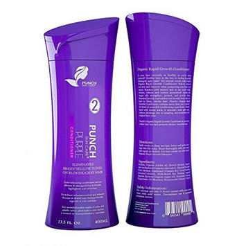 Maximum Purple Conditioner, Concentrated Keratin Repair Technology - Purple Conditioner for Blonde hair Eliminates Brassy Yellow Tones on Blond Gray Hair - 13.5 fl oz