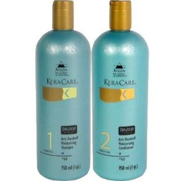 Avlon Keracare Dry Itchy Conditioner and Scalp Moisturizing Shampoo, 32 Ounce