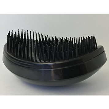 Elegant Black Detangling Brush, No More Tangle, Good for Adults and Kids