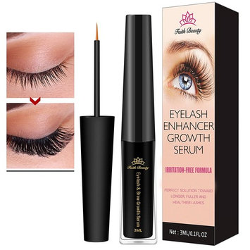 Faith Beauty Eyelash Growth Serum for Lash and Brow Irritation Free Formula