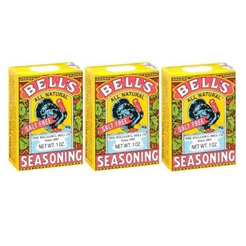 Bell's All Natural Salt Free Poultry / Turkey Seasoning 1 Oz