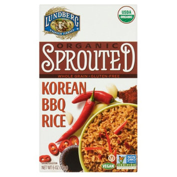 Lundberg Family Farms Organic Sprouted Korean BBQ Rice, 6 oz, 6 Count