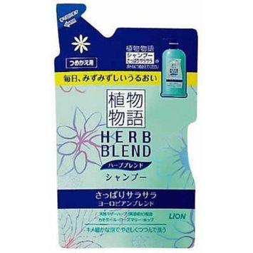 Lion HERB BLEND | Shampoo | SAPPARI SARASARA (Smooth) Refill 400ml (Japan Import)