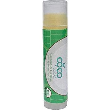 Coco Loco – Pure Organic Coconut Oil Lip Balm