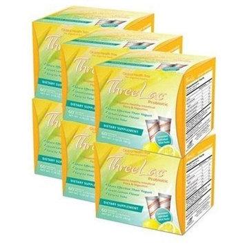 Quality Depot Threelac Probiotic Bonus 6 Pack 360 Pkts
