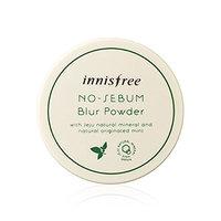 Innisfree No Sebum Blur Powder 0.18 Oz/5g (Including a Sample as Picture)