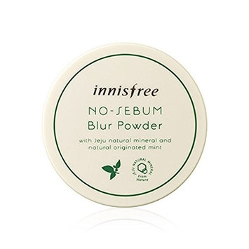 Innisfree No Sebum Blur Powder 0.18 Oz/5g (Including a Sample as Picture)