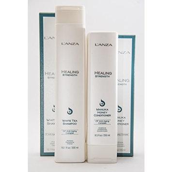 Lanza Healing Strength White Tea Shampoo and Manuka Honey Conditioner Duo Set