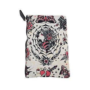 Liquor Brand Cosmetic Bag Gypsy Queen Beautiful Gypsy Tattoo makeup purse