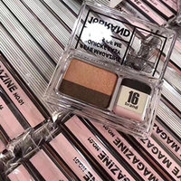 Highpot Easy To Use Eyeshadow Palette For Beginner Makeup Double Color Dual Effects Shimmer Eye Eyeshadow Palette