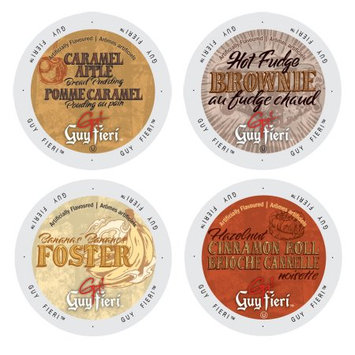 Single Cup Coffee Guy Fieri Famous Deserts Collection of Coffees, Delectable and Mouth Watering Flavors That Will Leave You Craving for Some More, 96 Count