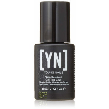 Young Nails Stain Resistant Gel Top Coat, 0.34 fl. oz.