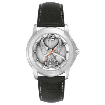 Harley-Davidson Men's Bulova Eagle Wrist Watch 76A12, Harley Davidson