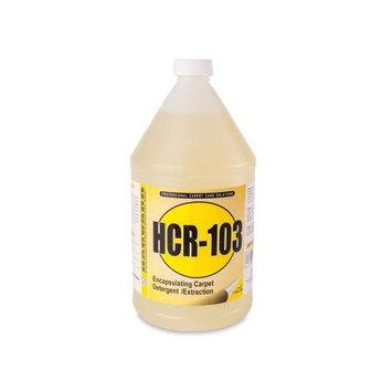 Harvard Chemical 3819 Harvard Chemical-103 Carpet and Upholstery Detergent, Fresh Odor, 1 Gallon Bottle, Amber (Case of 4)