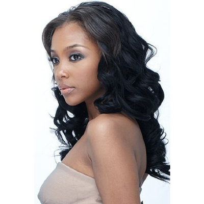 Outre Human Hair Sol Body Twist 12 inches Color 1(Jet black)