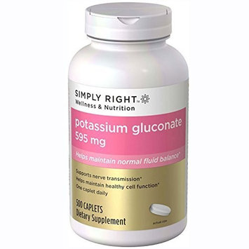 Member's Mark Potassium Dietary Supplement 99mg - 500 ct.