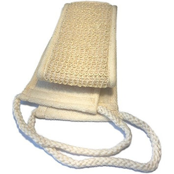 Natural Exfoliating Sisal Back Scrubber for Shower for Men and Women - Deep Clean & Invigorate Your Skin