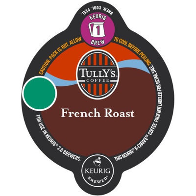 Tully's Coffee French Roast Bolt Pack, 1 Oz, Box Of 18