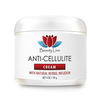 Personal Beauty Products - Anti Cellulite Cream (with Natural Herbal Infusion) - Cream for Cellulitis - 1 Jar