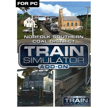Dovetail Games Train Simulator Add-On - Norfolk Southern Coal District (PC)(Digital Download)