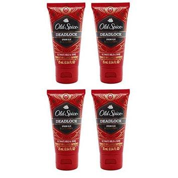 Spice Deadlock Spiking Glue, Travel Size, .84 Ounces / 25 ml (Pack of 4) + FREE Makeup Blender