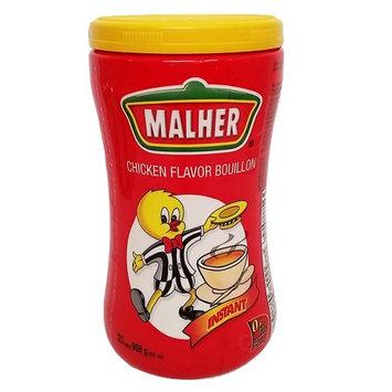 Malher Chicken Bouillon 32 oz - Consome de Pollo (Pack of 12)