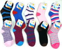 Ddi Ladies Fuzzy Ankle Socks (Pack Of 120)