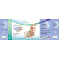 Evolur Sleep Triple Stage Deluxe Foam Crib and Toddler Mattress